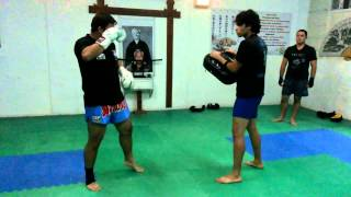 Entrenamiento k1 Team Full Contact Fighter Arica
