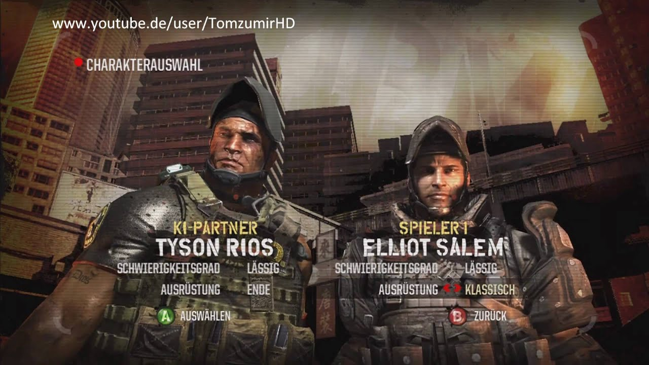 lets play army of two 2 the 40th day german part 1