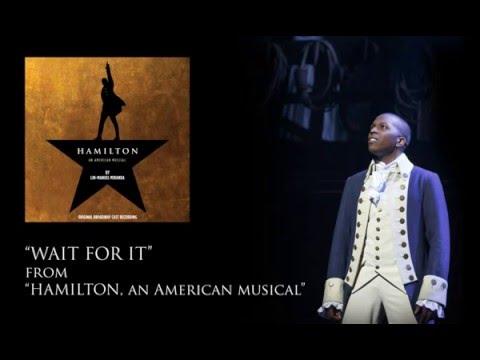 """""""Wait for it"""" karaoke, """"Hamilton"""""""