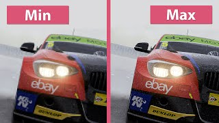 Forza Motorsport 6: Apex – PC Min vs. Max Graphics Comparison