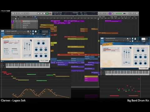 Swing More! Showbiz Demo - DAWcast: Full Mix