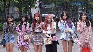 Big영상  4k  여자친구 5월11일 뮤직뱅크 리허설 출근길
