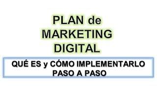 Plan de Marketing Digital para tener Exito