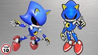 Top 10 Metal Sonic Shocking Facts
