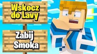 Minecraft: MUSISZ WYBRAĆ JEDNO CHALLENGE #2