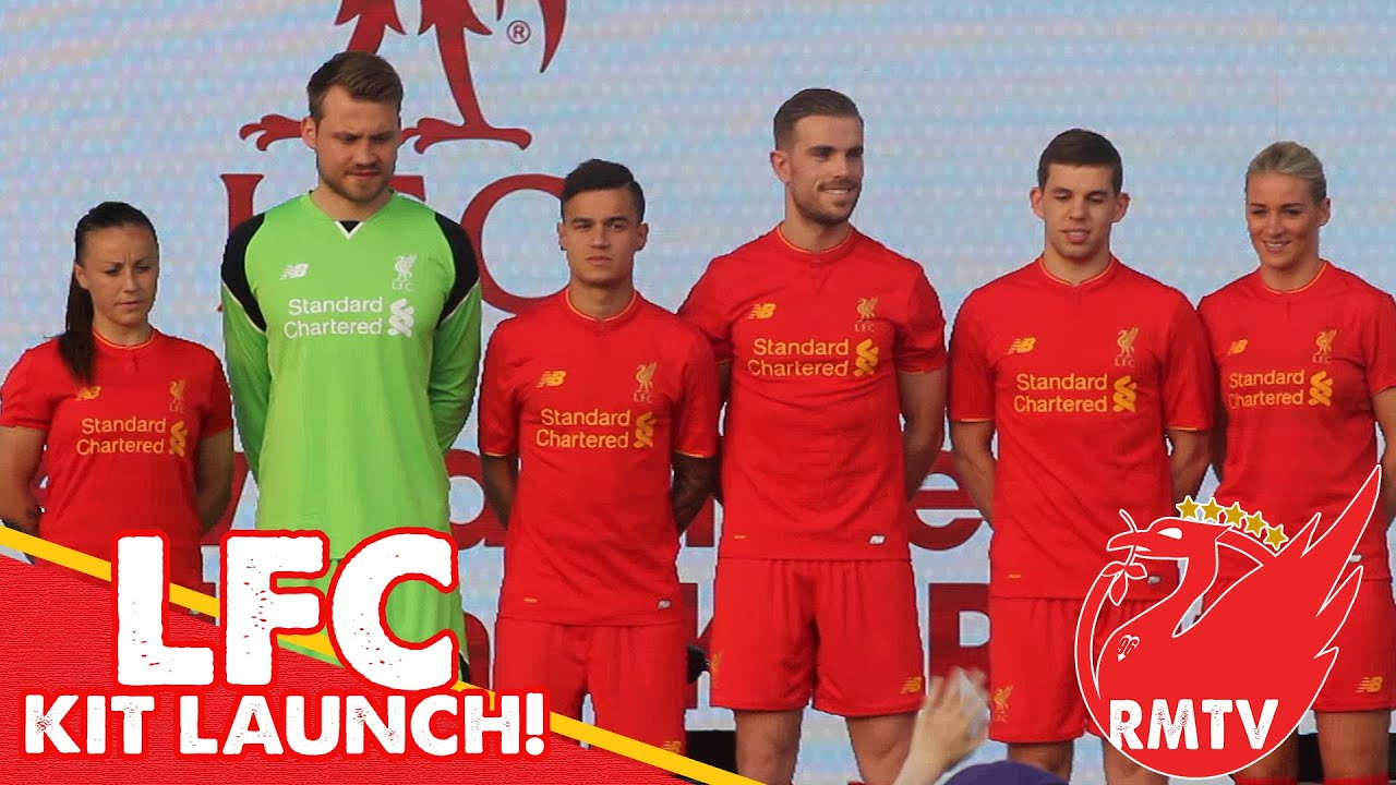 Liverpool launch new away strip ahead of 2016/17 Premier ...