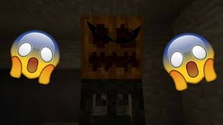 My Heart Hurt!!! The Figure in the Mineshaft (Minecraft Horror Map)