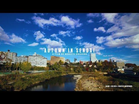 【4K】JAPAN Tohoku Miyagi Sendai / AUTUMN IN SENDAI 秋の仙台 【Ultra HD】