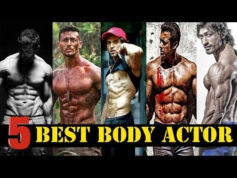 TOP 5 BEST BODY ACTOR | BOLLYWOOD ACTORS WITH GOOD PHYSIQUE | SALMAN KHAN | HRITHIK ROSHAN | TIGER |
