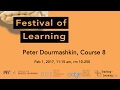 Festival of Learning 2017 Peter Dourmashkin