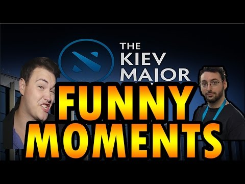 Slacks AND Sunsfan Kiev Major Funny Moments Dota 2