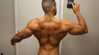 BULKING BACK DAY | BODYBUILDING MASS WORKOUT