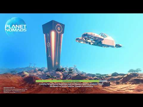 """Planet Nomads Ep. 2 """"Learning the ropes!"""" Space Exploration Survival PC Gameplay"""