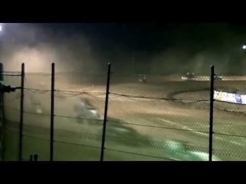 I-96 Speedway USAC Sprints A Main 6/22/2013