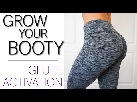 How to grow your booty faster w/ GLUTE ACTIVATION   + INSTAGRAM GIVEAWAY!
