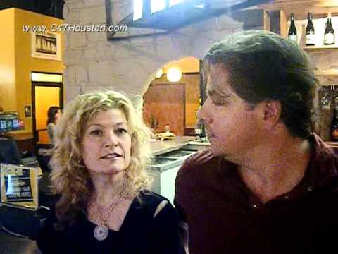 Texas Producer Alex Smith and Actress Dana WheelerNicholson talk to C47Houston
