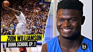Why Are Zion Williamson's Dunks So Impressive?! Pro Dunker Reemix Breaks It Down!