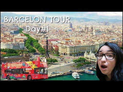 Barcelona City Tour  (SPAIN TRAVEL VLOG)