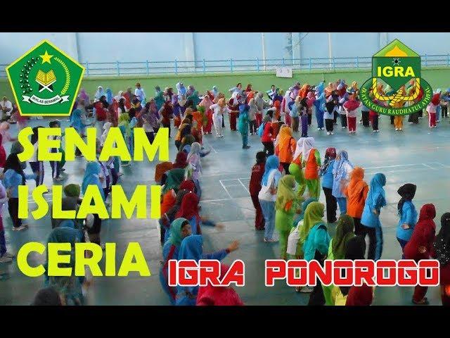 senam islami ceria igra ponorogo | live padepokan REOG |