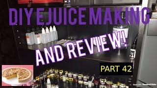 DIY E juice Mixing and Review Butter Pecan Custard (PBC) By jonnybagadonuts