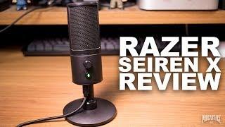 Компанія Razer сирени х USB мікрофон огляд / тест