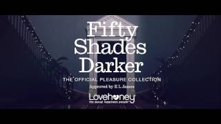 Fifty Shades Darker Official Pleasure Collection | Approved by E L James