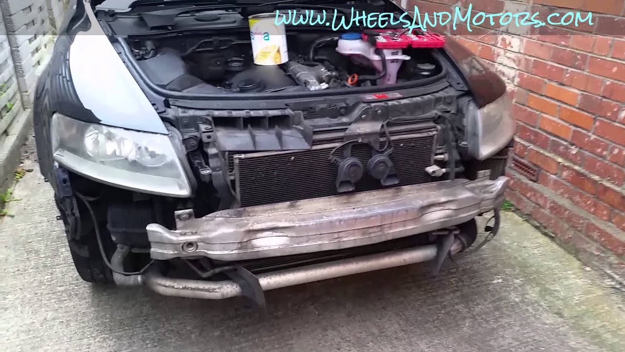 medium resolution of how to remove front bumper cover and headlights clusters on audi a6 c6 4f