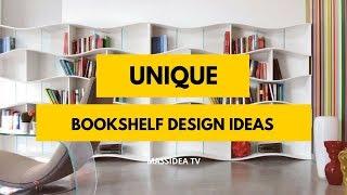 65+ Unique Bookshelf Designs for Your Room!