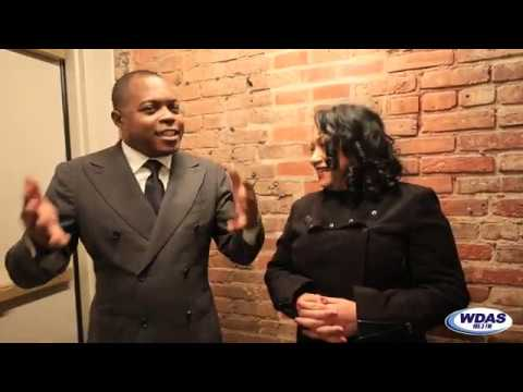 Mimi Brown - Junior Chats with Mimi Brown Backstage at WDAS Holiday Comedy Jam 2019