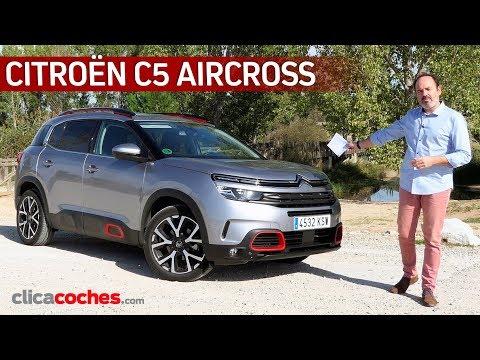 Citroën C5 Aircross | Prueba a fondo | Review en español - Clicacoches.com