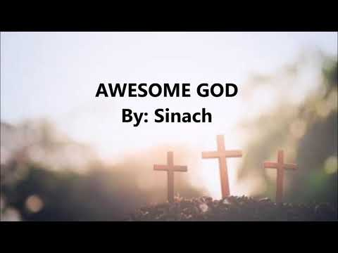 AWESOME GOD BY SINACH WITH LYRICS