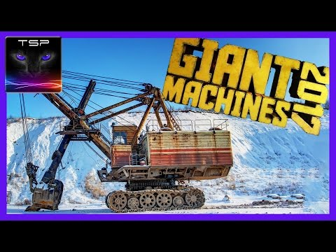 Giant Machines 2017: T-REX Excavator & Uranium Samples #3 (+GIVEAWAYS)