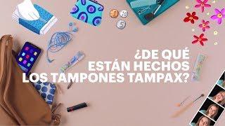 Los tampones TAMPAX están fabricados con los mismos materiales que ...