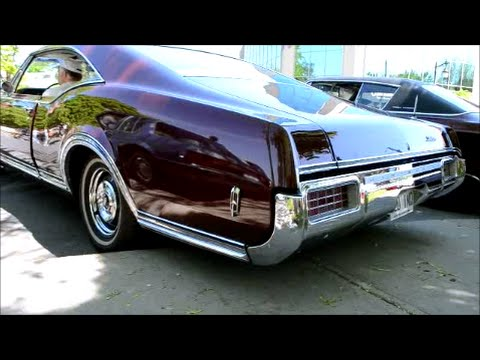 1968 OLDSMOBILE DELTA 88 CUSTOM COUPE & 455 START UP