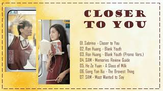 [Full OST // Mp3 Link] CLOSER TO YOU OST // 我的刺猬女孩 OST