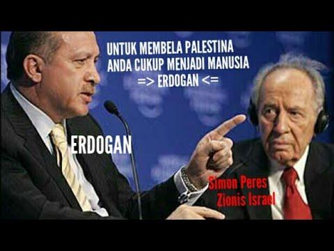 """Erdogan Menampar Presiden Israel Dengan Kata-Kata """"Anda Cukup Jadi Manusia Untuk Membela Palestina"""""""