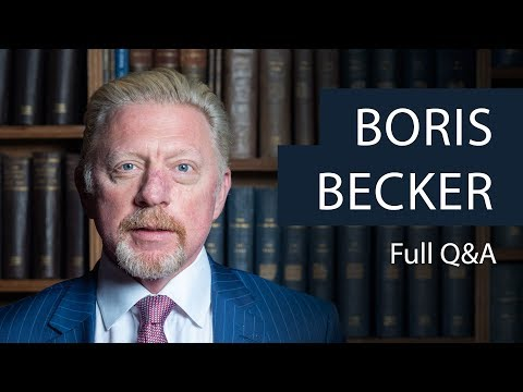 Boris Becker | Full Q&A | Oxford Union
