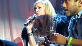 Madonna - Smirnoff Nightlife Exchange - Dance Competition - NYC - 11/12/2011