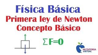 Primera Ley de Newton - Ley de la Inercia - Concepto General...
