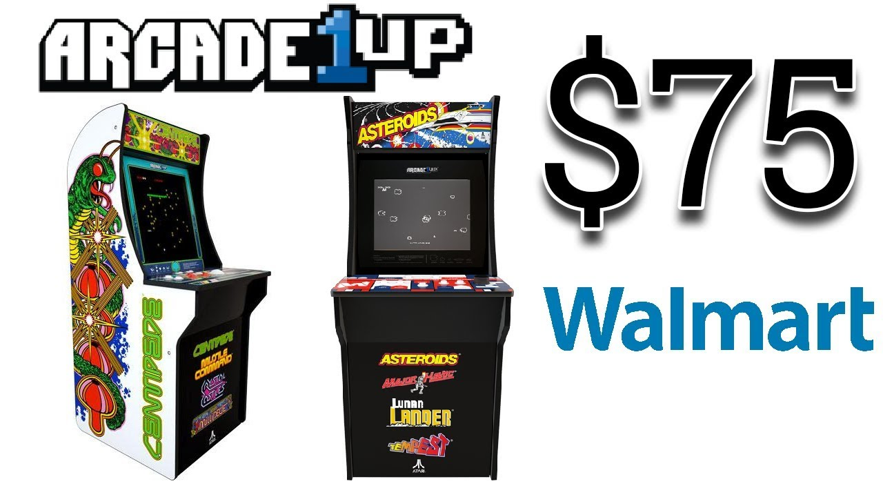 Arcade1Up News - Asteroids and Centipede for $75? | Console Kits