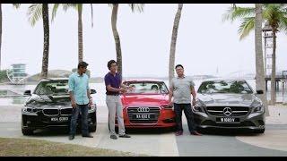 DRIVEN 2014 #7: Audi A3 Sedan 1.8T quattro vs Mercedes-Benz CLA 200 vs BMW 316i
