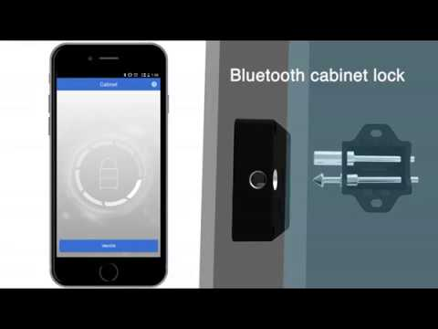 Bluetooth Cabinet Locks Keyless,hidden,invisible, Electronic Cabinet Lock  Security Access Control
