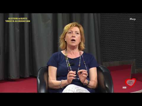 Elettori & Eletti 2017/18 018 Tonia Spina, Candidata sindaco Bisceglie