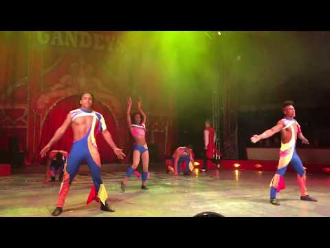Gandeys Circus The Greatest Showmen Tour Merry Hill Show 2 The Havana Troupe Skipping Act