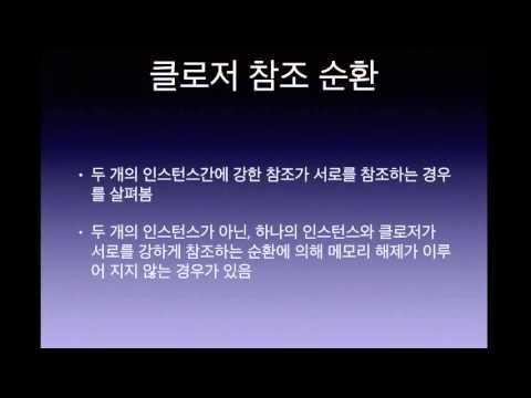 박교수의 Swift강좌21-클로저강한참조순환