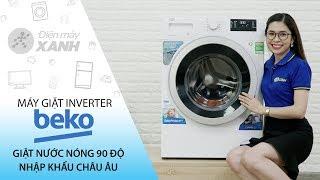 Máy giặt Beko inverter 9 kg: giặt nước nóng diệt khuẩn (WMY 91283 PTLB2) | Điện máy XANH