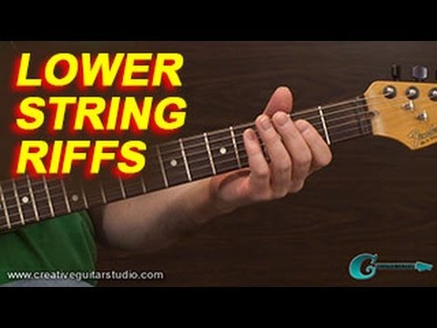 SONGWRITING: Riffs on the Lower Strings