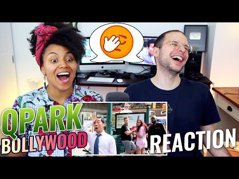 QPark - Bollywood Songs In Public | Prem Ratan Dhan Payo, Dhoom, Chammak Chalo, Etc. | REACTION