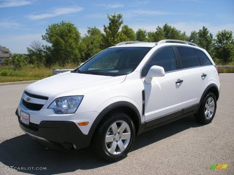 2012 Chevrolet Captiva Sport LT V6 Overview