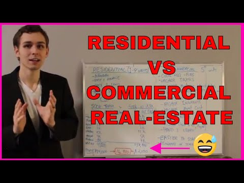 Everyone Wants to Buy Commercial Real-Estate, but is EVERYONE Wrong? Commercial Vs Residential